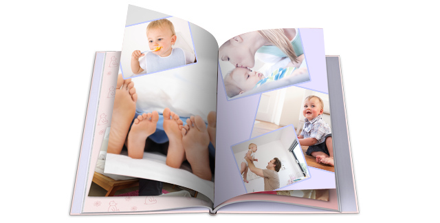 Fotobuch mit Babybilder
