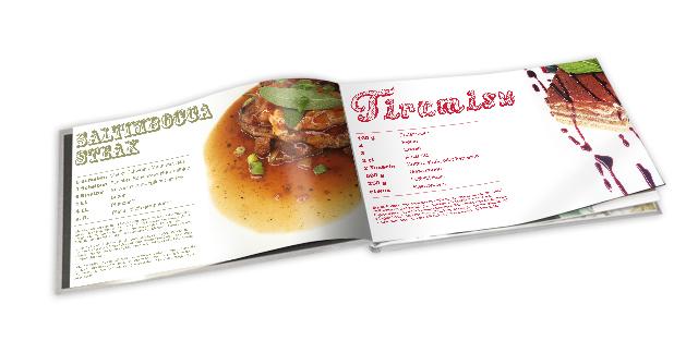 Fotobuch mit Kochrezepten